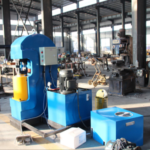 china top quality blue color steel wire rope sling hydraulic press machine