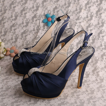 20 Colors)double Navy Platform Sandals High Heels Small Size - Buy ...