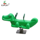 Crocodile Shape Animal Plastic Spring Rider Kids Spring Rocking Horse