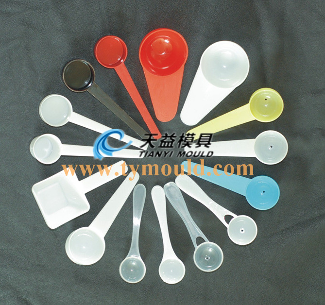 Widely used plastic measuring spoon mould for milk powder