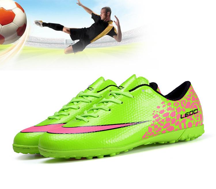 7029a0e6b Get Quotations · Football boots Men Soccer shoes Futbol Hypervenom Boys  Kids Football shoes Indoor soccer boots cleats