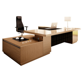 office desks contemporary. Contemporary Executive Desk Luxury CEO Office Furniture With High File Cabinet Desks