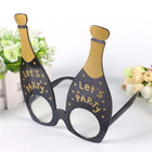 DLP9100 Black Champagne Glasses Party Creative Gifts for Bar Celebration Decoration Festival Party