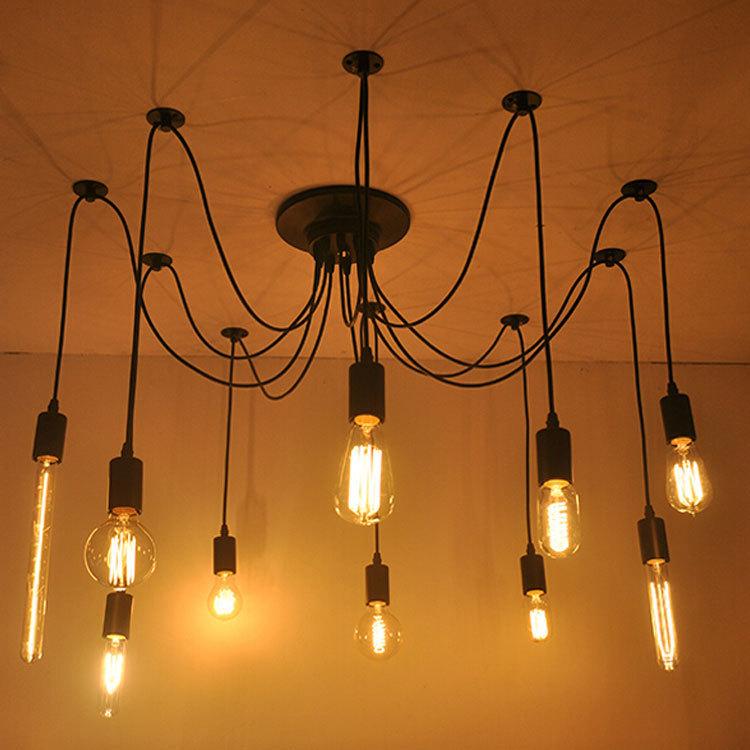 buy diy edison bulb pendant lights e27. Black Bedroom Furniture Sets. Home Design Ideas
