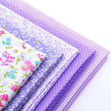 New style Print Flower Cotton Fabric Patchwork Needlework Textile Pattern Sewing Fabrics Doll clothing Tilda Quilt Tissue40*50