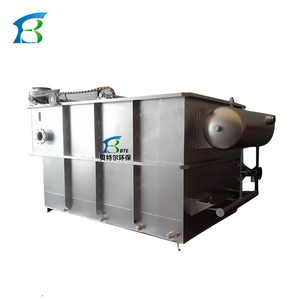 Dissolved Air Flotation Equipment, Stainless Steel DAF Unit, used in Food Industry Waste Water Treatment