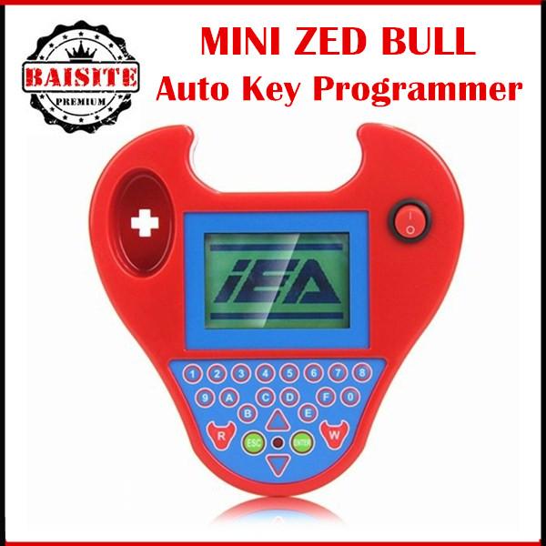 2016 супер-smart мини-зет бык с obd 2 автоматический ключевой программер малый зет - ключевой транспондер программирования ZEDBULL многоязычным