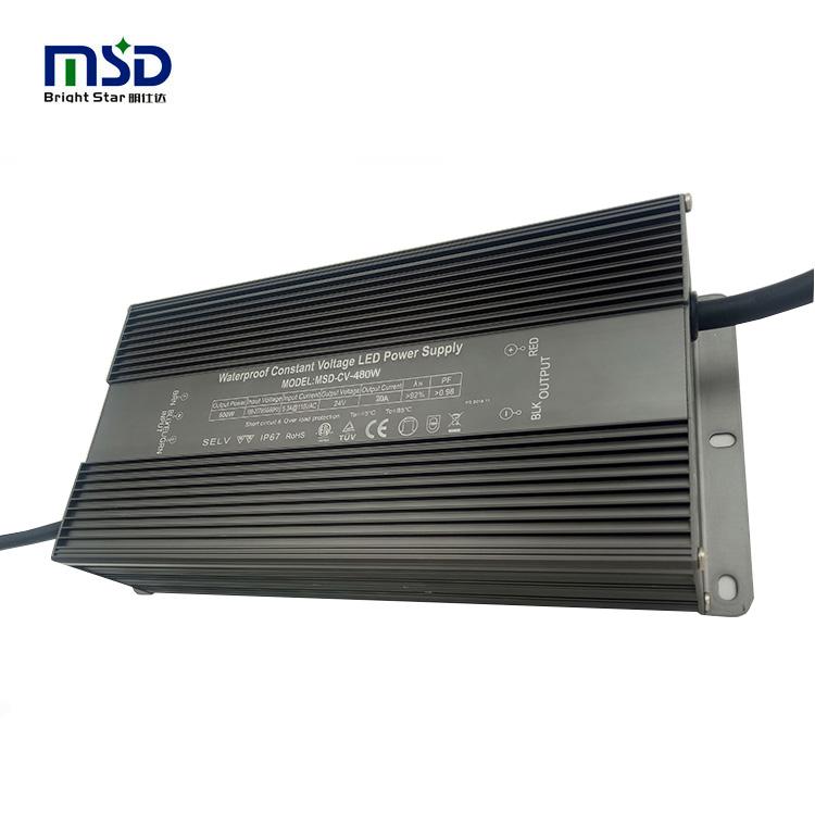 High power 480W 600W 800W 1000W waterproof LED driver 24V 36V 48V