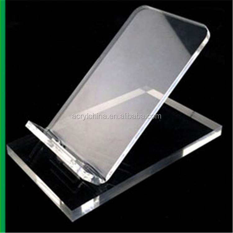 2016 new style clear acrylic mobilephone display,wholesale mobilephone display stand