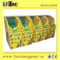 Gun fighting zombies arcade coin operated game machines for children