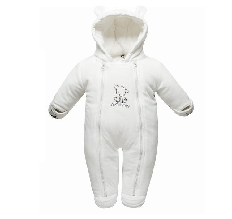 c22924cbc9c5 Wholesale Baby Snowsuit Baby Winter Clothes Cotton Hooded 3 12 ...