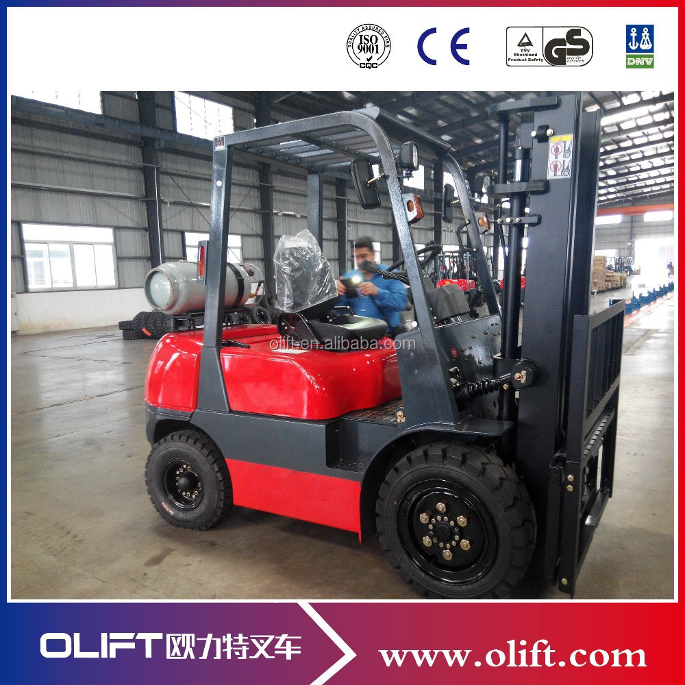 3tons 6m LPG Forklift for sales