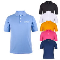 Brand Quality China factory short sleeve high quality 100 cotton pique design your own custom mens polo shirt