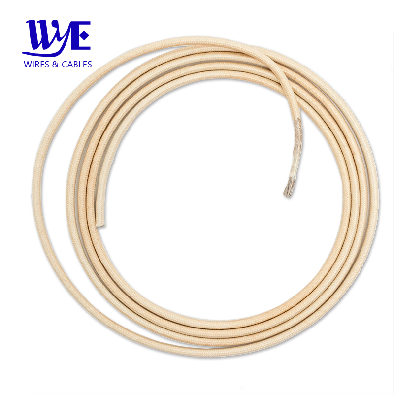 Pure Nickel High Temperature Fiberglass Insulated Heat Resistant Electric Wire