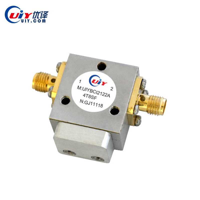 UIY 5.9 ~ 7.1 GHz RF Microwave Coaxial Isolator , N SMA , C Band SHF Device Circulator