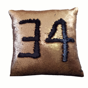 Throw pillow 2019 new toy faux fur pillowcase sequin pillow