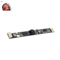 2mp USB2.0 Camera Module OV3660 Strip 15fps with Audio 2pc Microphone Fixed Focus