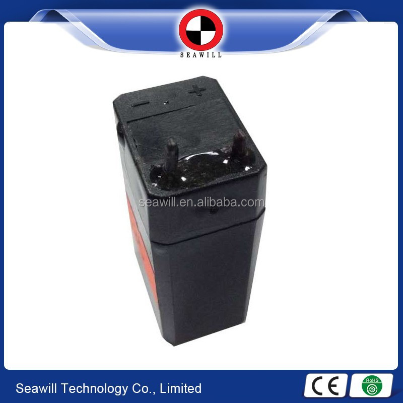 Small rechargeable lead acid battery 4v 400mAh/4v 0.4Ah
