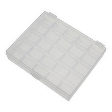 Naaien accessoires transparante plastic 25 case <span class=keywords><strong>spoel</strong></span> opbergdoos
