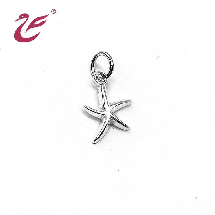Lovely and high quality starfish shaped pendant for children and women