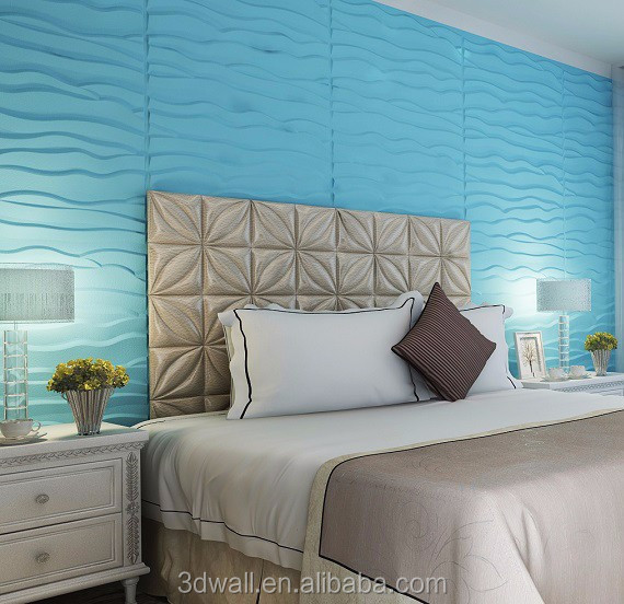 Bamboo fiber 3d wall tiles decorative wall tile wood paneling easy DIY