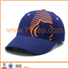 2016 New products royal navy blue embroidery baseball caps