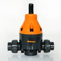 Factory Direct Sell PVC DN20 Plastic Safety Back Pressure Valve SAFTY SAFETY RELIEF VALVE For Dosing Pump For Water Treatment