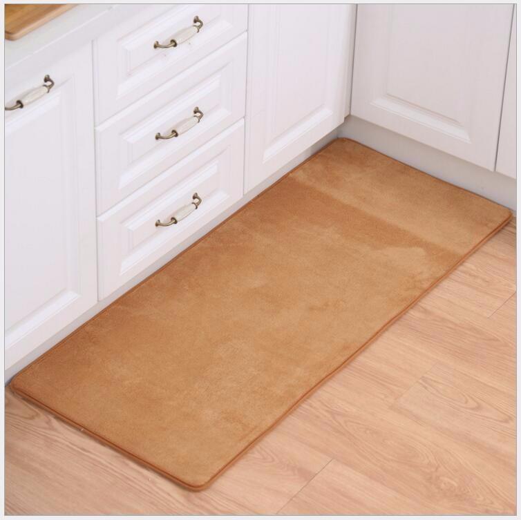2PCS Set Carpet Coral Velvet Pad Carpet Floor Mat Carpet And Rug For  Bathroom Kitchen Non-slip Mat Door Carpet Mat Alfombras - us230 2f493c031429