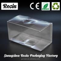 Fashional Design Popular clear plastic cube shaped box