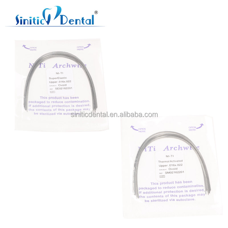 Orthodontics Dental stainless steel arch nite wire dental supply