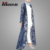 New Model Abaya Islamic Clothing Modest Fashion Lace Design Front Open Abaya Causal Long Sleeve Elegant Muslim Cardigan