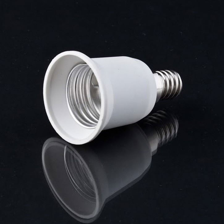 Lamp Adapter Socket Convert E14 bulb socket to E27 Socket Adapter