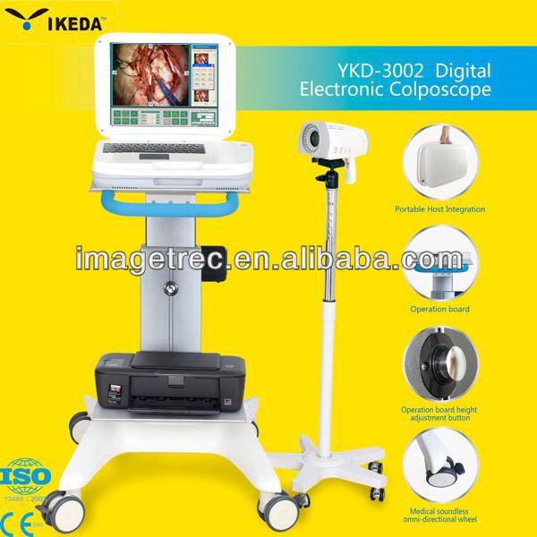 trolley of Electronic Colposcope with Vietname software