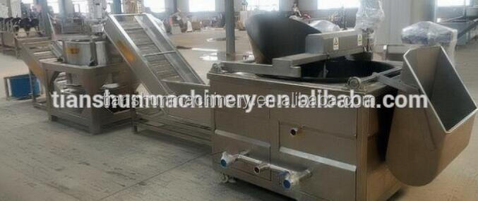 Automatic Gas Batch Stir Deep Fryer
