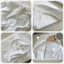 hotel bedding set 4pcs duvet cover fitted flat sheet pillow case