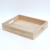 paulownia beverage wood service tray for restaurant