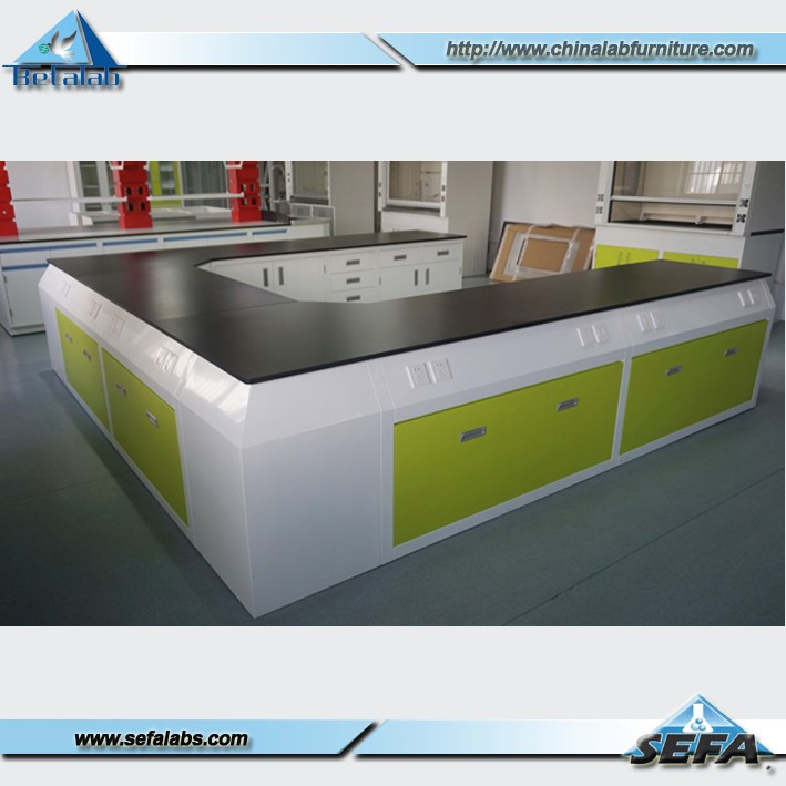 Hot Sales Steel Modular U Shape Wall Bench Lab Work Bench Lab Furniture Buy Lab Wall Bench Lab