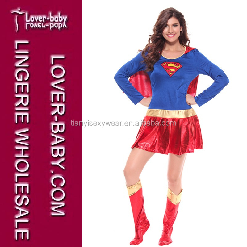 Event & Party Novels and Movies Wholesale Sexy Super Wonder Woman Hero Sexy Fancy Dress Halloween Costume Women Clothing Costume