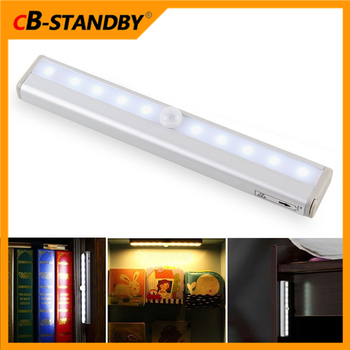 Lighted Toys Mr Beam Motion Sensor Activated Under Cabinet Lighting Closet  Lights 4 AAA Battery Powered