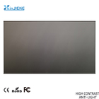 "100"" 16:9 Home Theater Anti-light Projector Screen ALR Hard Short-focus Black Ambient Light Fabric Projection Screen"