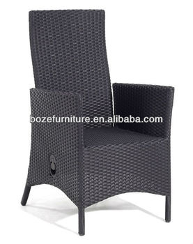 New outdoor furniure adjustable back wicker recliner reclining chair SGS rattan  sc 1 st  Alibaba & New Outdoor Furniure Adjustable Back Wicker ReclinerReclining Chair ...