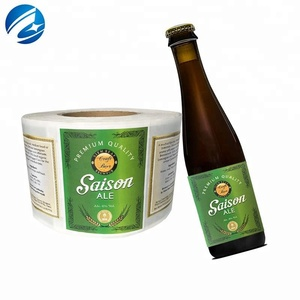 New Design Custom Printing Beer Bottle Labels