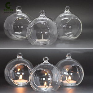 glass candle holder hanging glass tealight votive candle holders