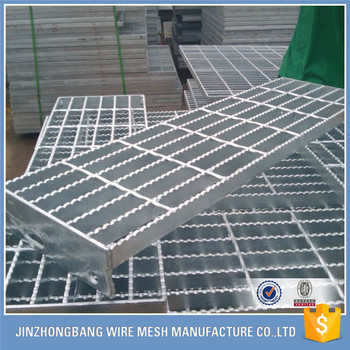 Catwalk steel grating punched decking grip strut safety for Catwalk flooring