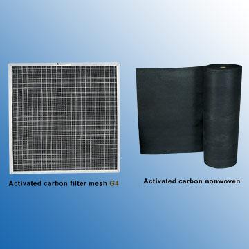Carbon Nonwoven Filter