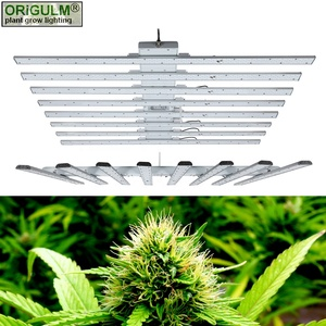 Spectral Tuning Dimming 490W LED Plant Grow Light Strip Bar Samsung Full Spectrum Indoor Hydroponics Veg. Bloom Lighting Board