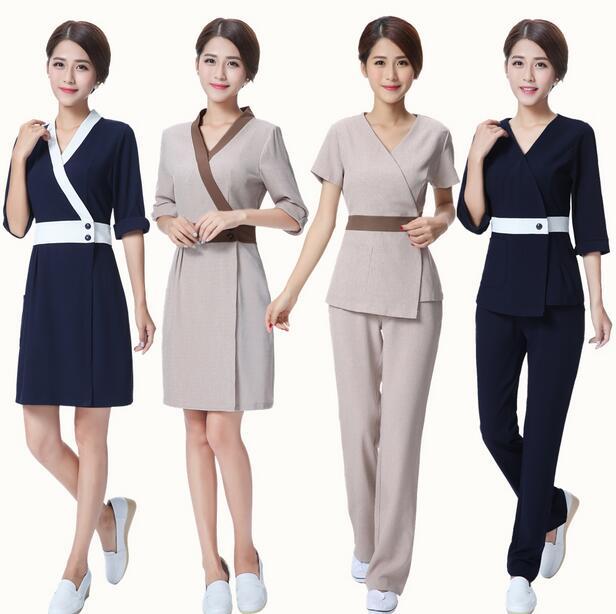 Spa manager uniform images galleries for Uniform design for spa