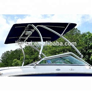 Reborn Pro2 Extra Large Wakeboard Tower Bimini Top- 1970V Black