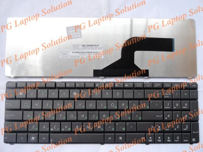 Русская клавиатура для Asus K53 K53E X52 X52F X52J X52JR X55 X55A X55C X55U K73 K73B K73E K73S X61 NJ2 тепловоз RU черная клавиатура