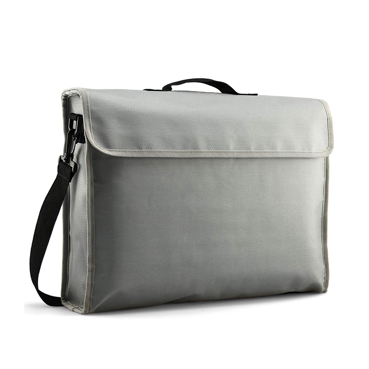 YBF-11 Men Messenger Bag Travel 내화 문서 백 대 한 돈 Passport Cash 보석